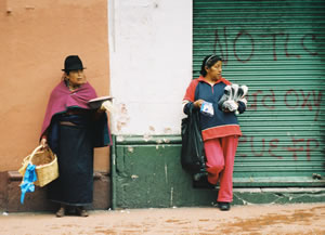 Indiginous Ecuadorians