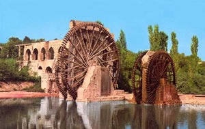 Hama water wheel (noria)